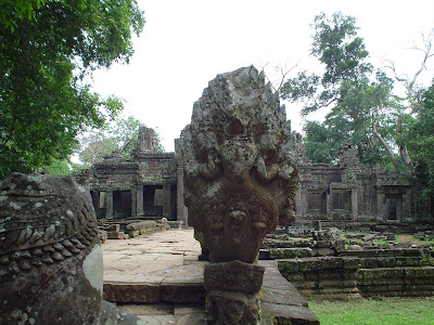 Goddess of Angkor Wat in Cambodia