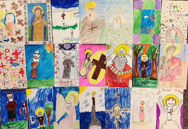 Catholic Saint Drawing Art Contest