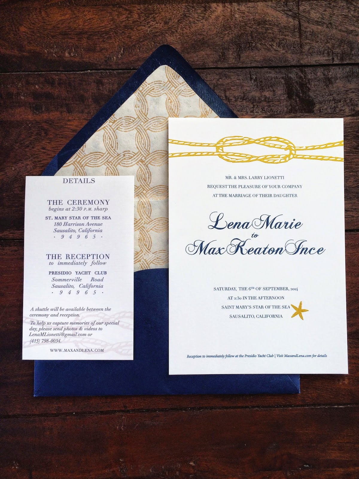 Kelly moran entry level adulthood diy nautical wedding wow that looks like its going to be the best wedding ever and youre totally right their reception will be right by the golden gate bridge to solutioingenieria Images