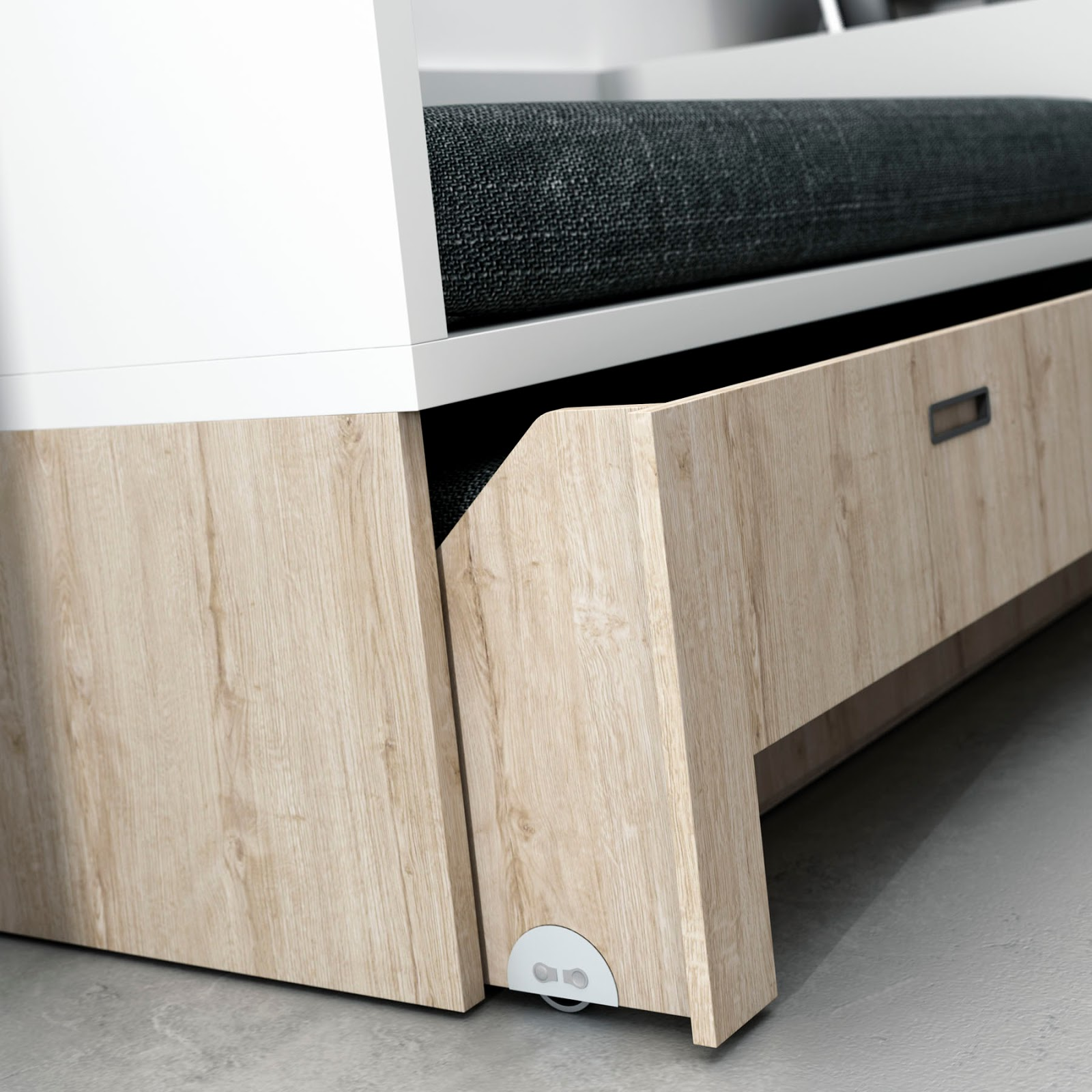 Camas compacto juveniles de igual medida la cama de arriba for Medidas camas compactas juveniles