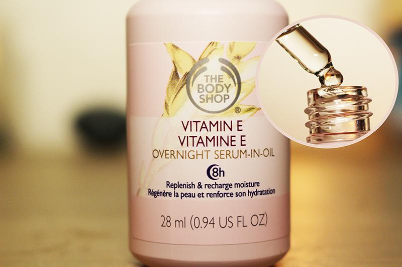 Vitamin E Overnight Serum-In-Oil, by The Body Shop