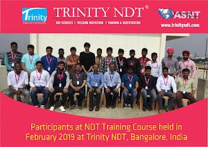 NDT Level 2 Training Participants - Feb 2019