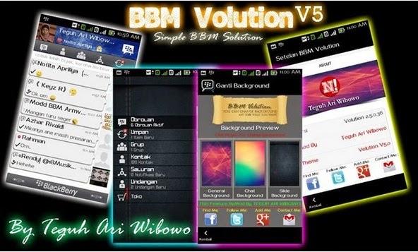 BBM Mod Volution V5.0 Apk