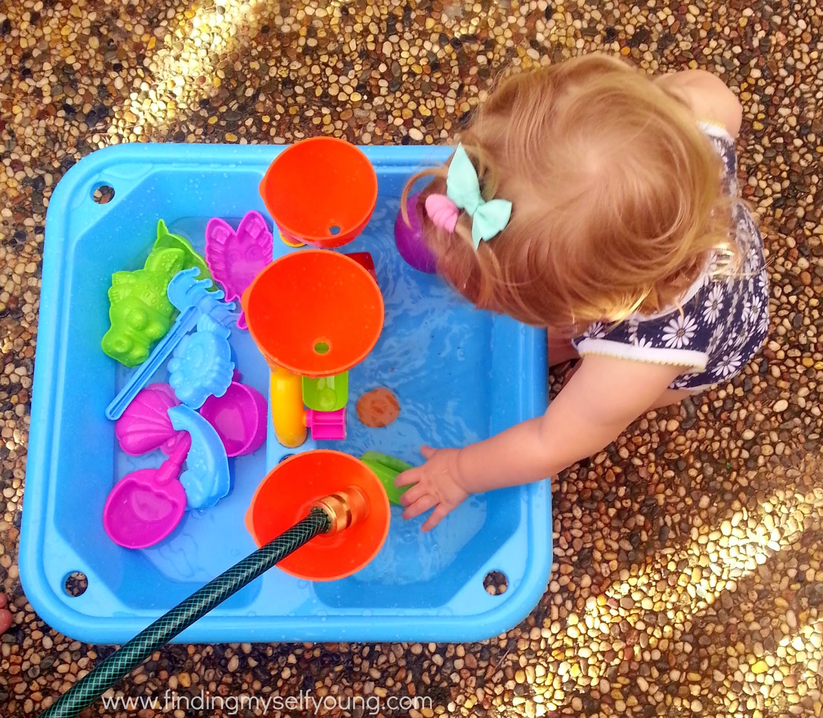 Finding Myself Young Sensory water play for toddlers