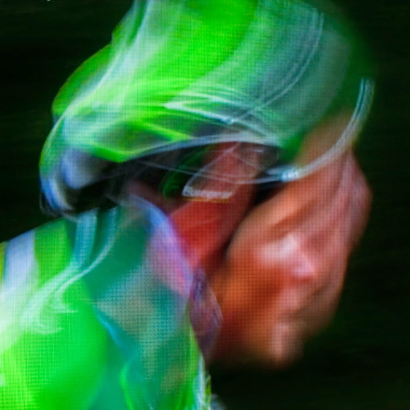 le tour de france, motion blur, blur, abstract, abstraction, tim macauley, photographic art, you won't see this at MoMA, appropriation, found imagery, le tour 2014, tv footage, portrait, timothy Macauley, the light monkey collective, grand cycling tour, team Europcar, thomas voeckler