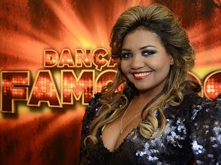Gaby Amarantos na dança dos famosos