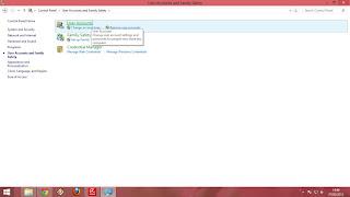 Cara Membuat Akun User Baru Windows 8