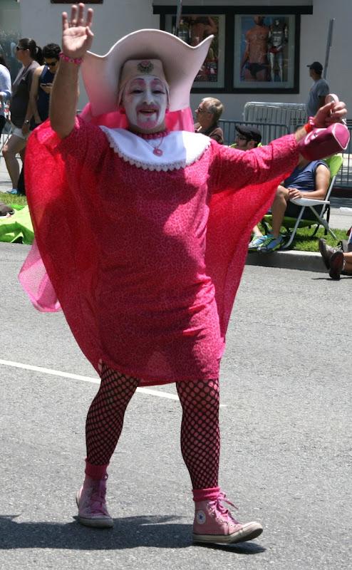 Sister Perpetual Indulgence LA Pride Parade 2012