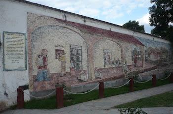 Mural Artístico al lado de la Locomotora