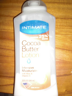 cheap crappy cocoa butter lotion