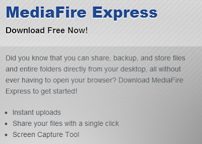 Mediafire Express 0.15 Beta Version