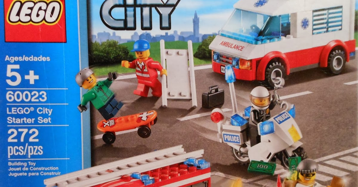 Toni Builds With Lego City Lego City Starter Set Review