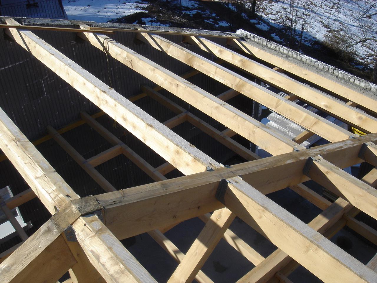 Construire sa maison haute performance avec euromac2 isolation de toiture en rampant for Construire sa toiture