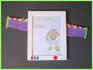 Marco de Fotos Buzz Lightyear Fieltro Chikipol