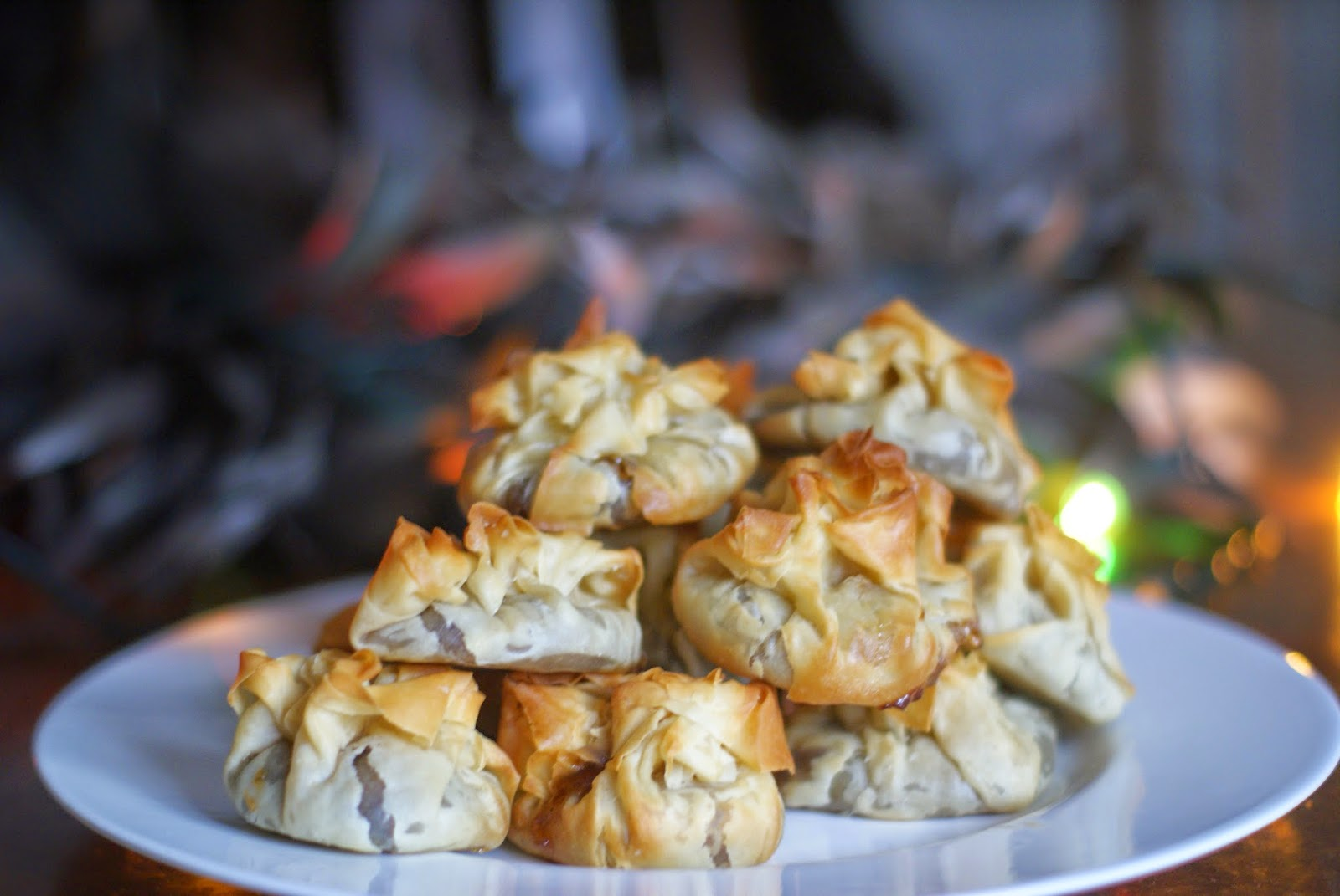 filo pastry mince pies