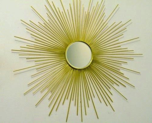 Sunburst-Mirror: Designer-Spiegel selbst gemacht