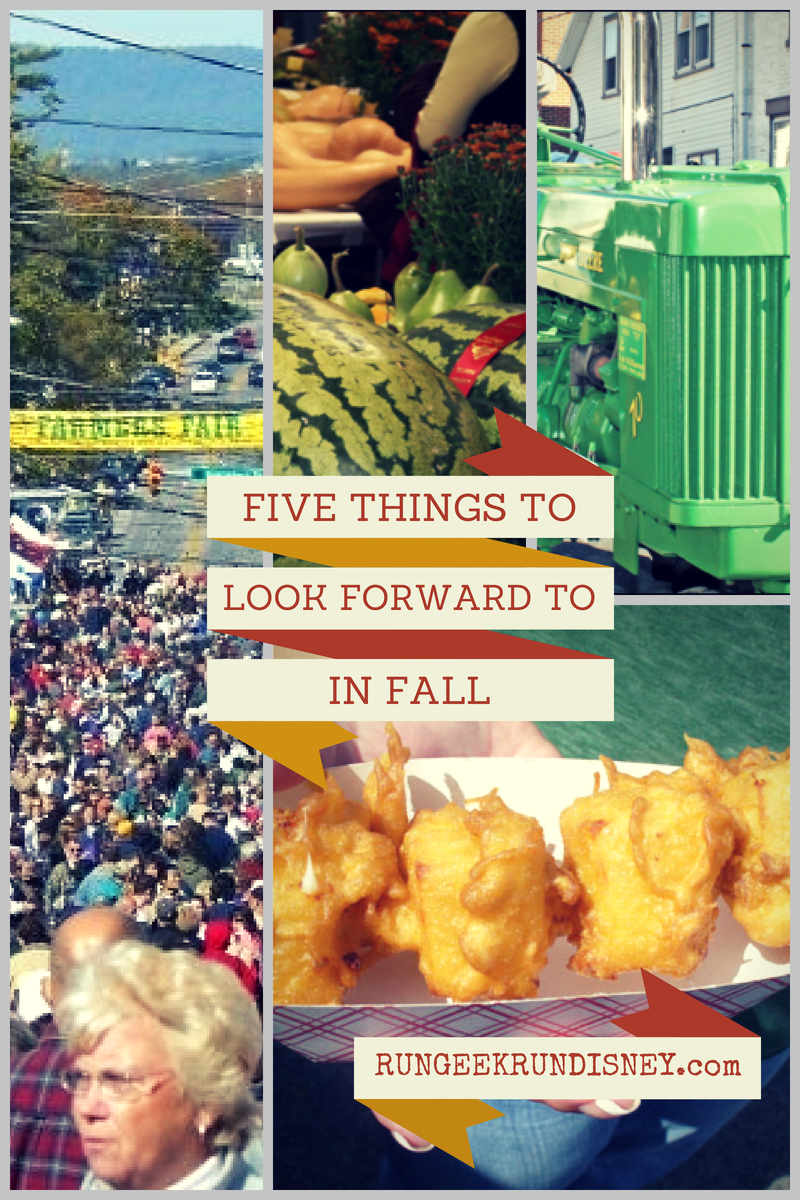 Friday Five - Fall and Fairs
