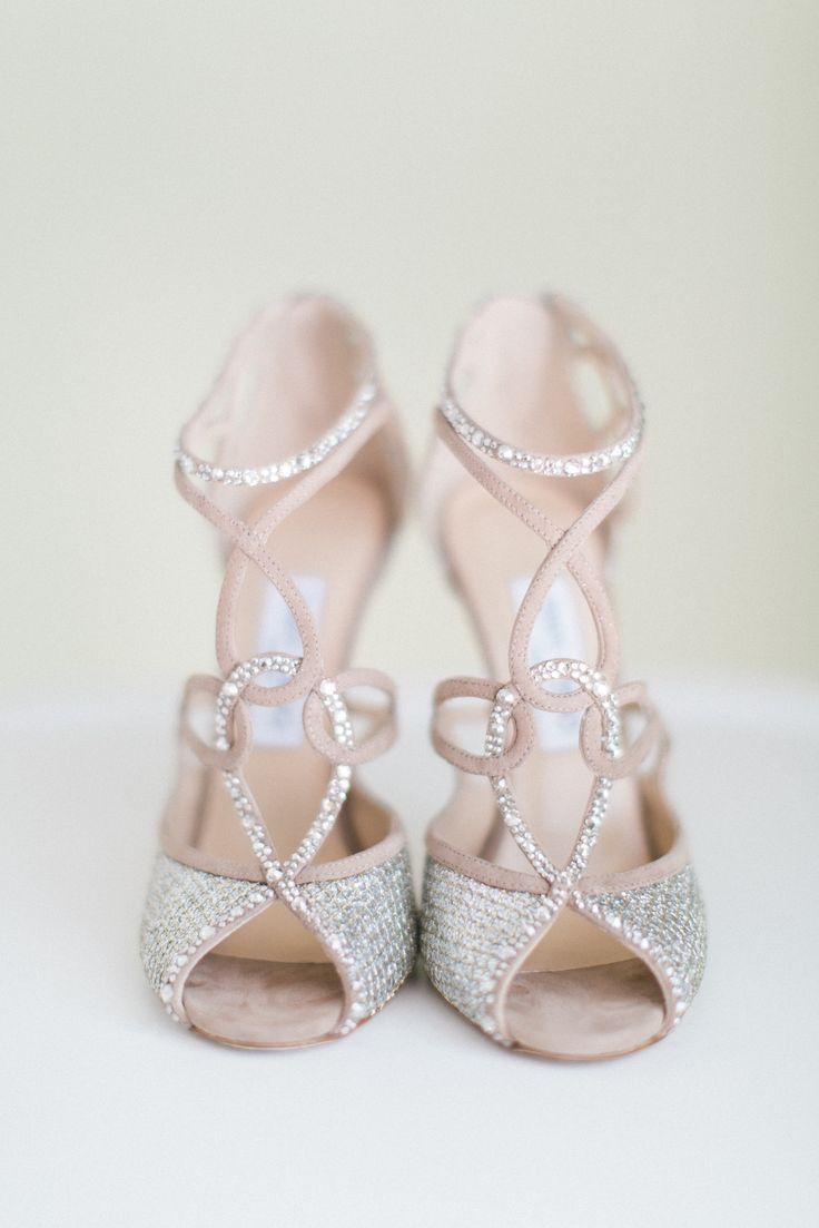 weddings blush wedding jimmy choo wedding shoes Wedding Dresses Blush Wedding