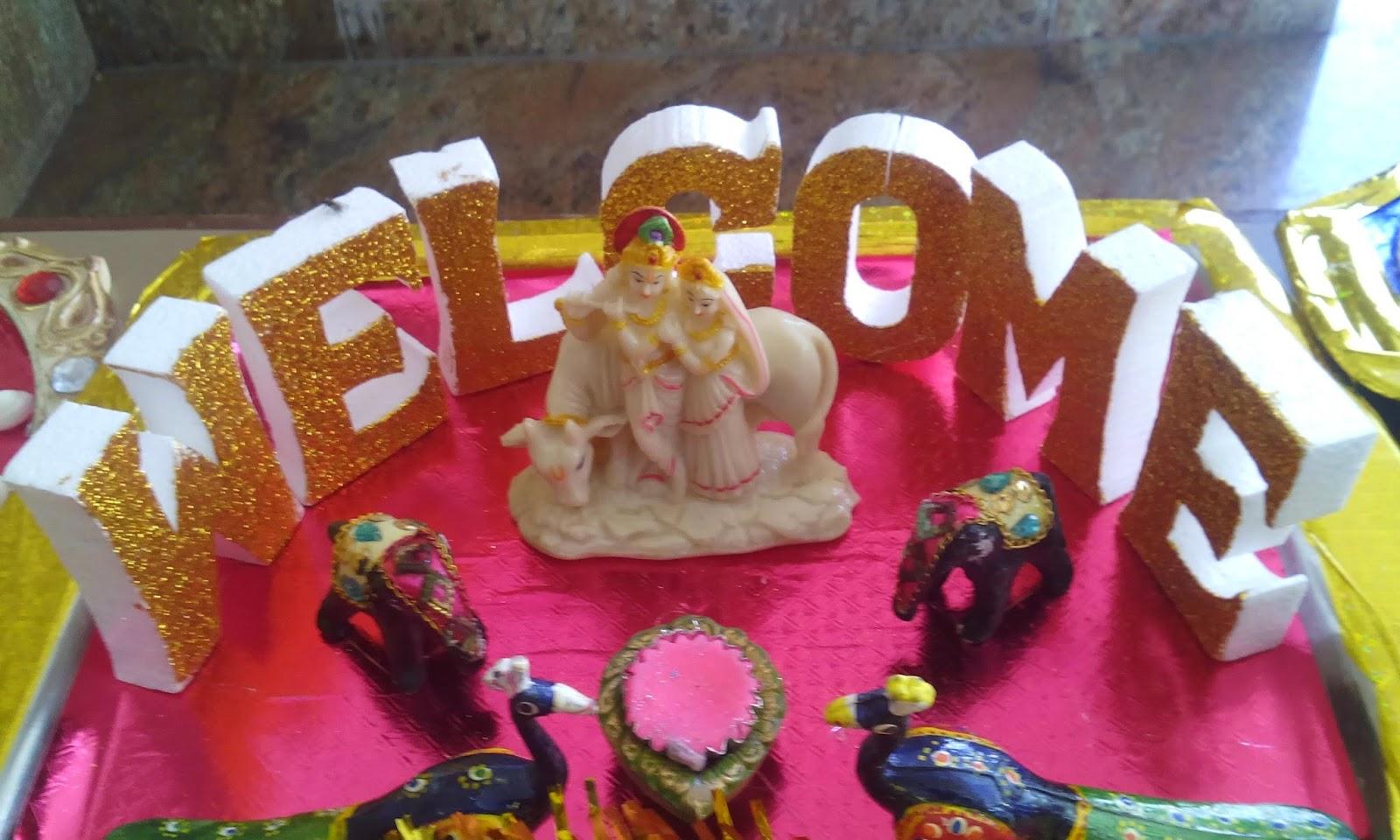 Wedding and Aarthi plates by Chandra Vadhana: May 2015