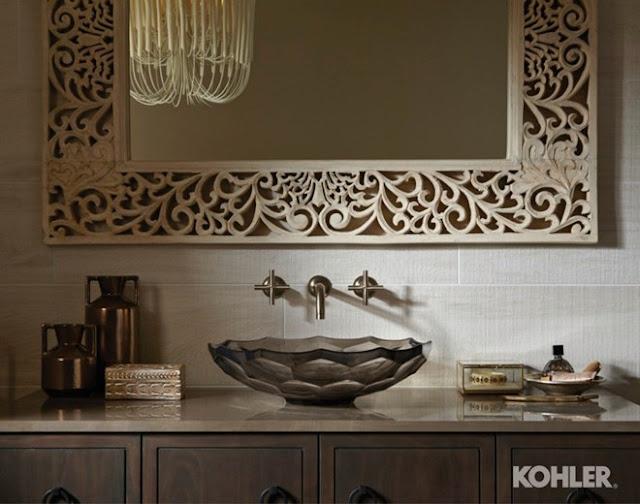 Khám phá vẻ đẹp cổ điển trong các mẫu phòng tắm hiện đại