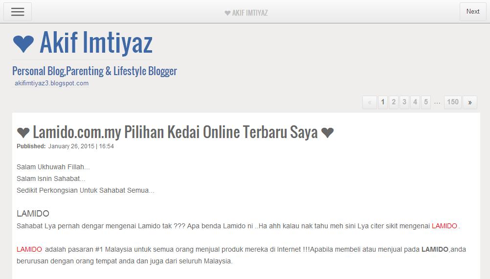 Apa Ke Benda Got Blogger Tu