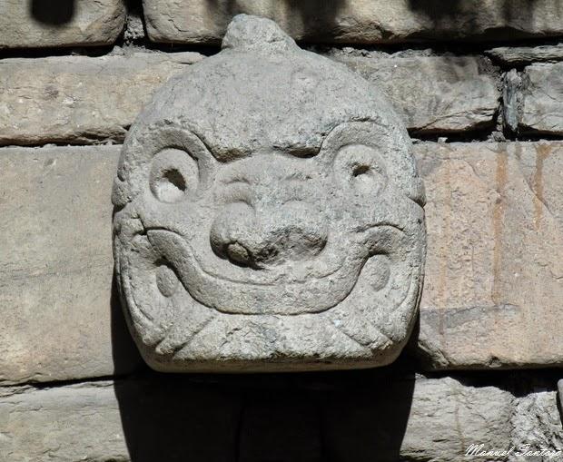 Chavin de Huantar, cabeza clava
