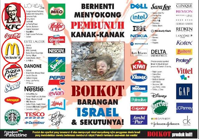 Boikot Israel+%281%29 KEMPEN Boikot Mcdonald Secara Besar Besaran Bermula Jumaat Ini