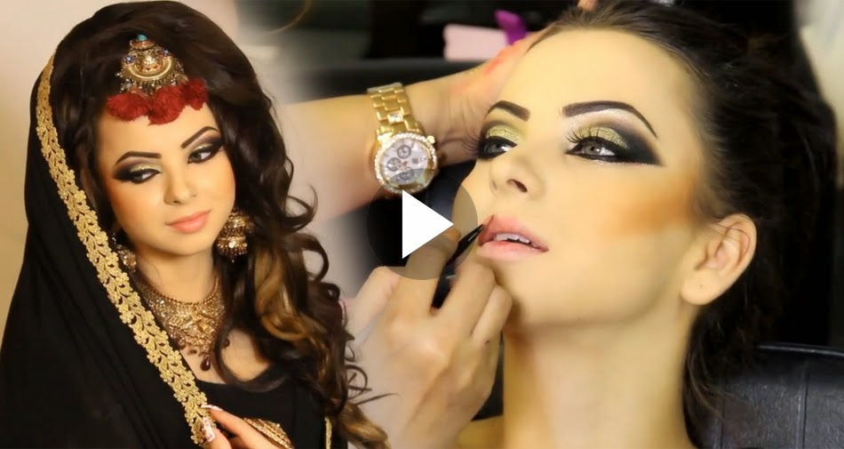 Bridal Face Makeup Step By Step With Pictures : Pakistani Bridal And Engagement Makeup - Full Tutorial ...