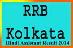 rrb kolkata hindi asst result