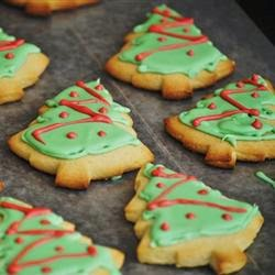Soft Christmas Cookies, All Recipes, 97 calories
