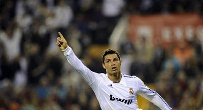 CR7 celebrando el gol de copa