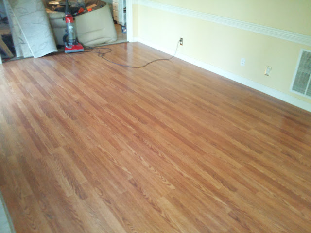 Cheap way out diy 4 cheaper carpet to hardwood flooring for Cheapest type of flooring