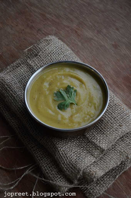 Avocado & Drumstick Soup