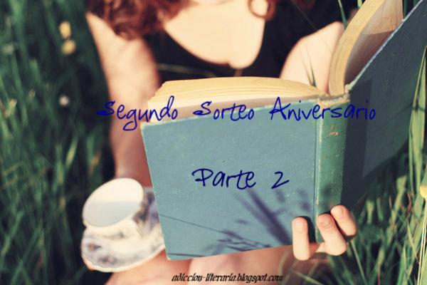 Segundo Sorteo Aniversario Adicción Literaria