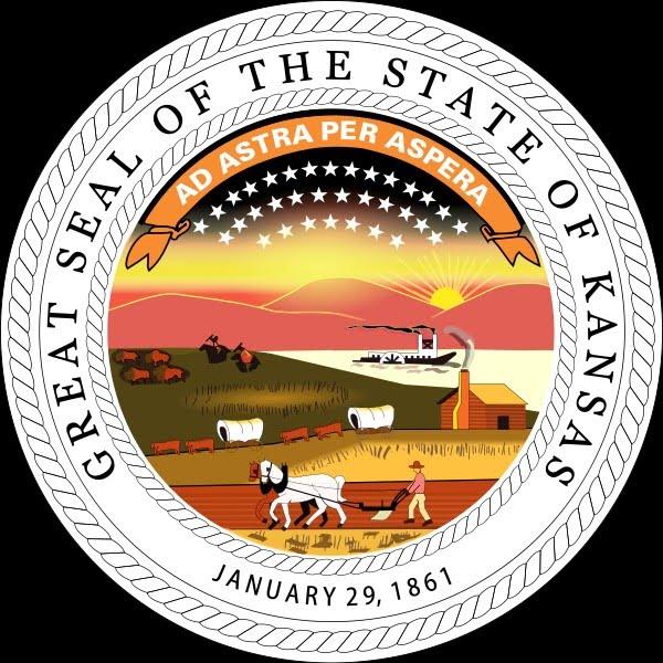 Geocentryczna pieczec Stanu Kansas