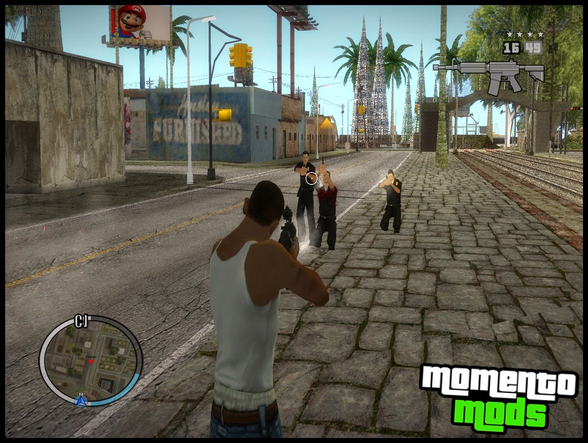 GTA SA - Hud Do GTA IV Edition