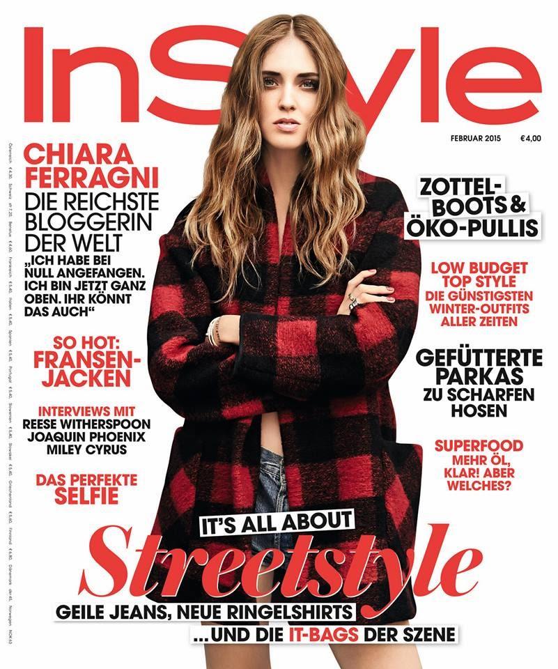 Chiara Ferragni - InStyle, Germany, February 2015