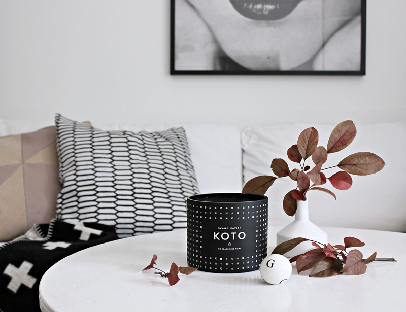 Our KOTO candle has arrived!