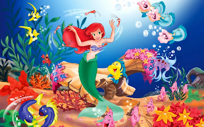 Disney Animated Movie Little Mermaid Wallpapers