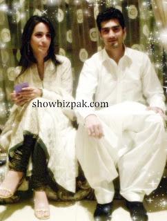 Shahzad Sheikh wife Hina