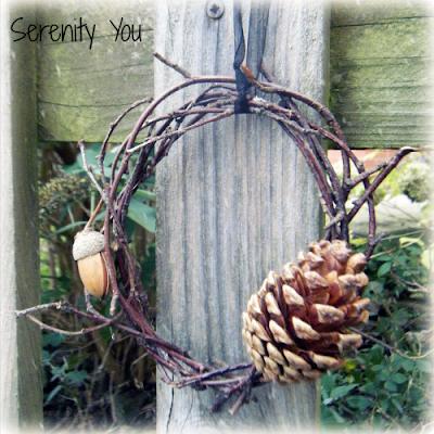 handmade twig wreath