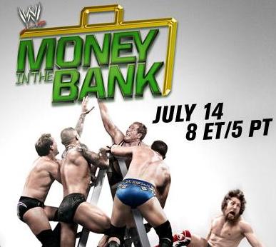 money in the bank 2013 en vivo y directo, online wrestling, poster oficial para money in the bank o dinero en el banco del año 2013