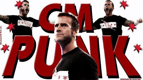 "Wallpaper » Download CM Punk ""Reborn"" HQ Wallpaper (Designed By Uday Rai via iPOST)"