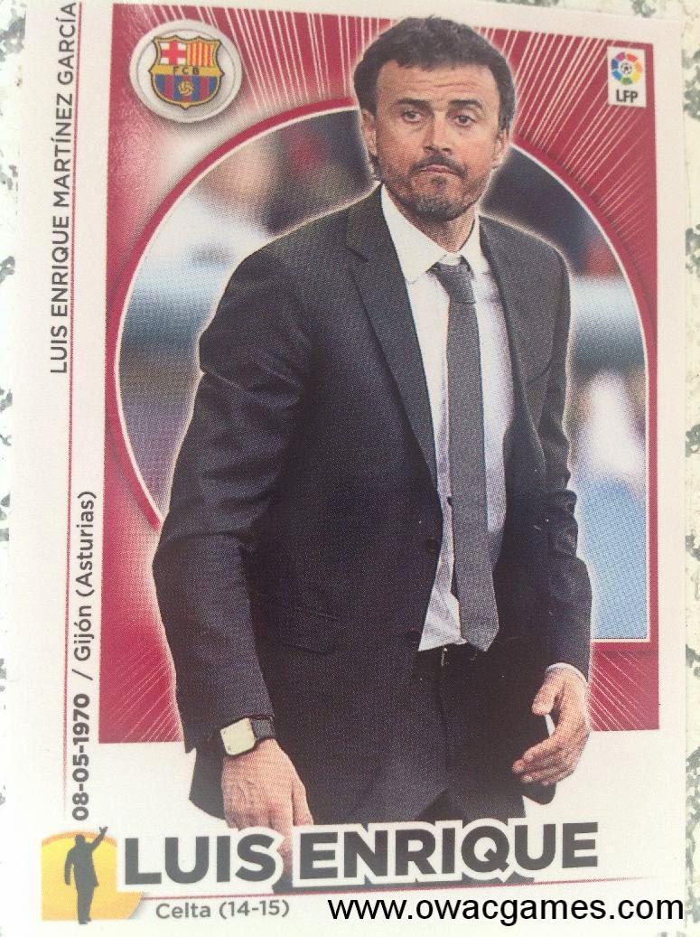 Liga ESTE 2014-15  entrenador Luis Enrique