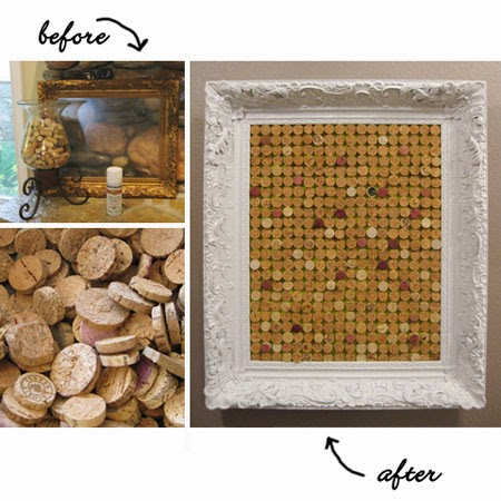 Interesting Crafts with Wine Corks