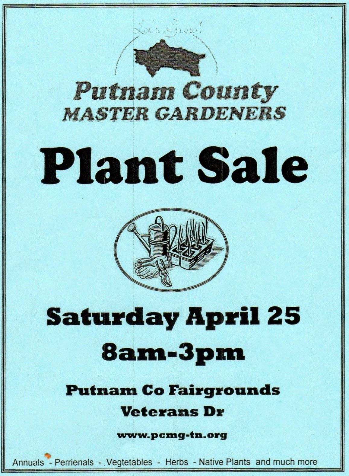 PCMG Plant Sale Flyer