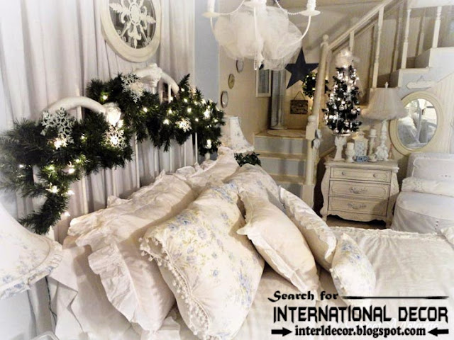 Christmas decorations for bedroom 2015 in new year  Christmas bedroom decor. Best Christmas decorations for bedroom 2015