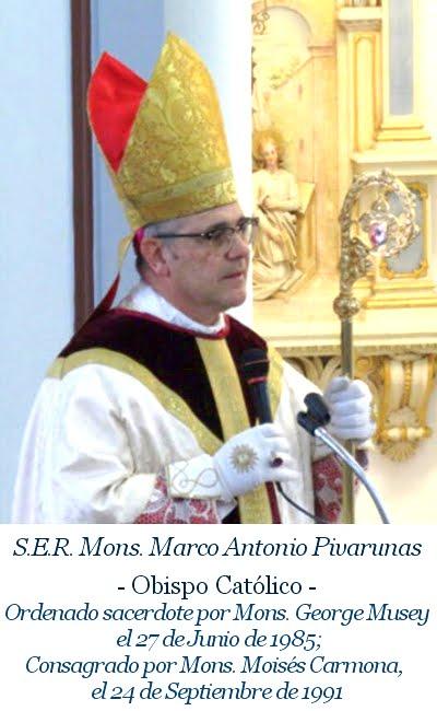 Monseñor Marco Antonio Pivarunas
