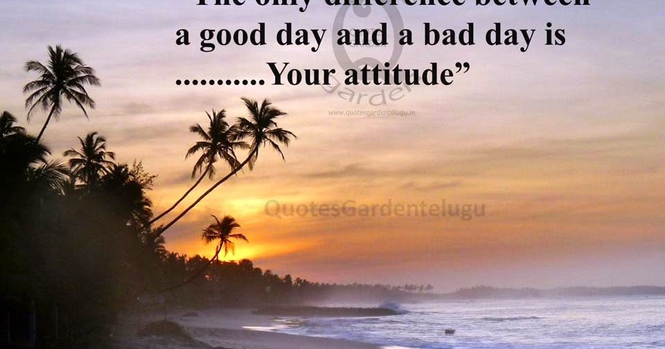best inspirational quotes about attitude best english