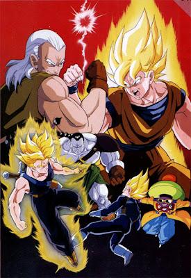 Dragon Ball Z: La Pelea de los Tres Saiyajin – DVDRIP LATINO